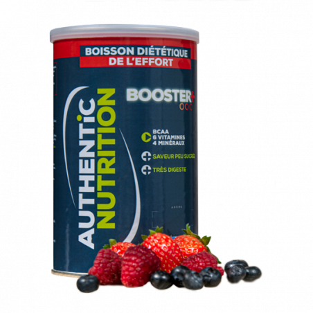 Authentic Booster + fruits rouges 500g